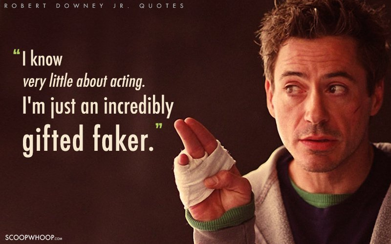 Best Iron Man Quotes 27 Interesting Quotes By Robert Downey Jr. That Prove He's So Much  Best Iron Man Quotes