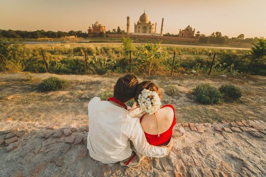 This Couple Traveled All The Way To India For A Dream Pre Wedding Photoshoot It S Beautiful