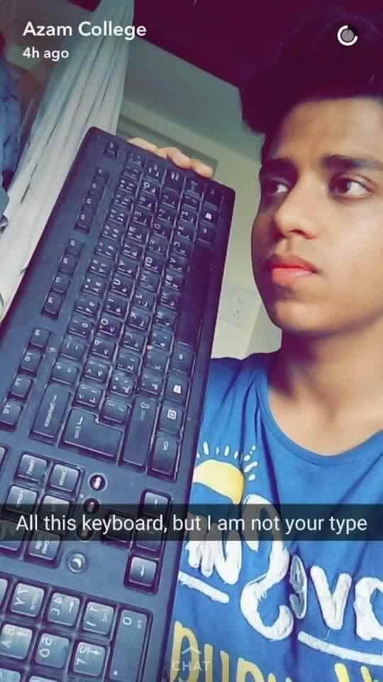Left Heartbroken, This Guy Created Hilarious Snapchats To Sum Up His