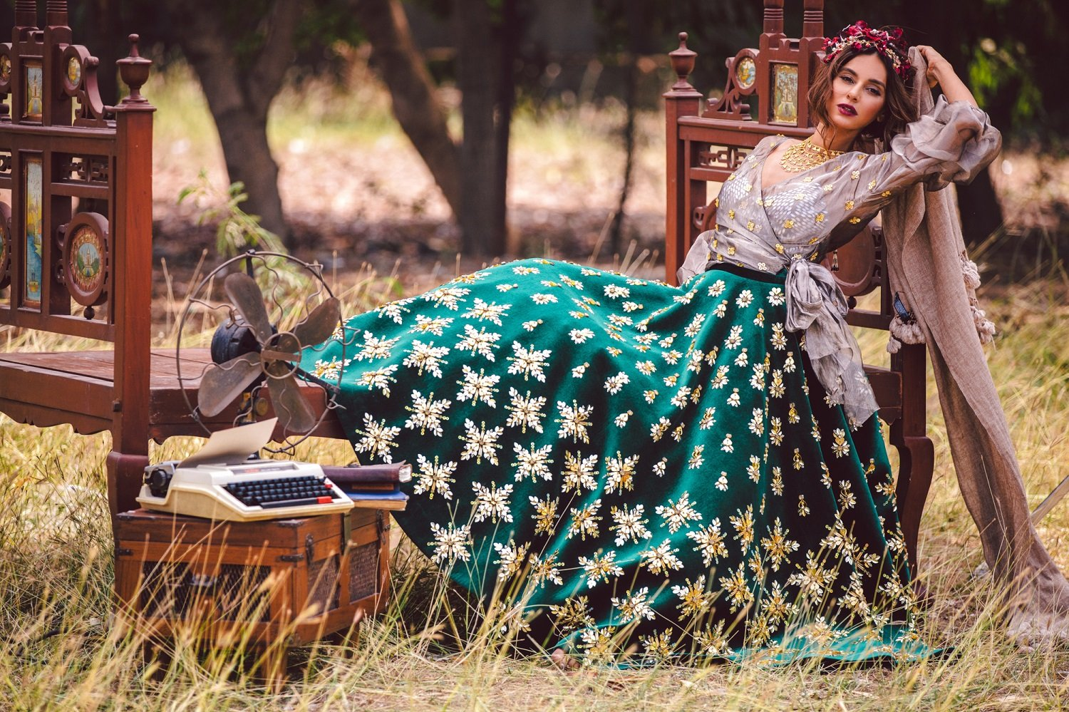 8fa45cdc 20 Beautiful Lehengas For The Contemporary Indian Bride Who's Not ...