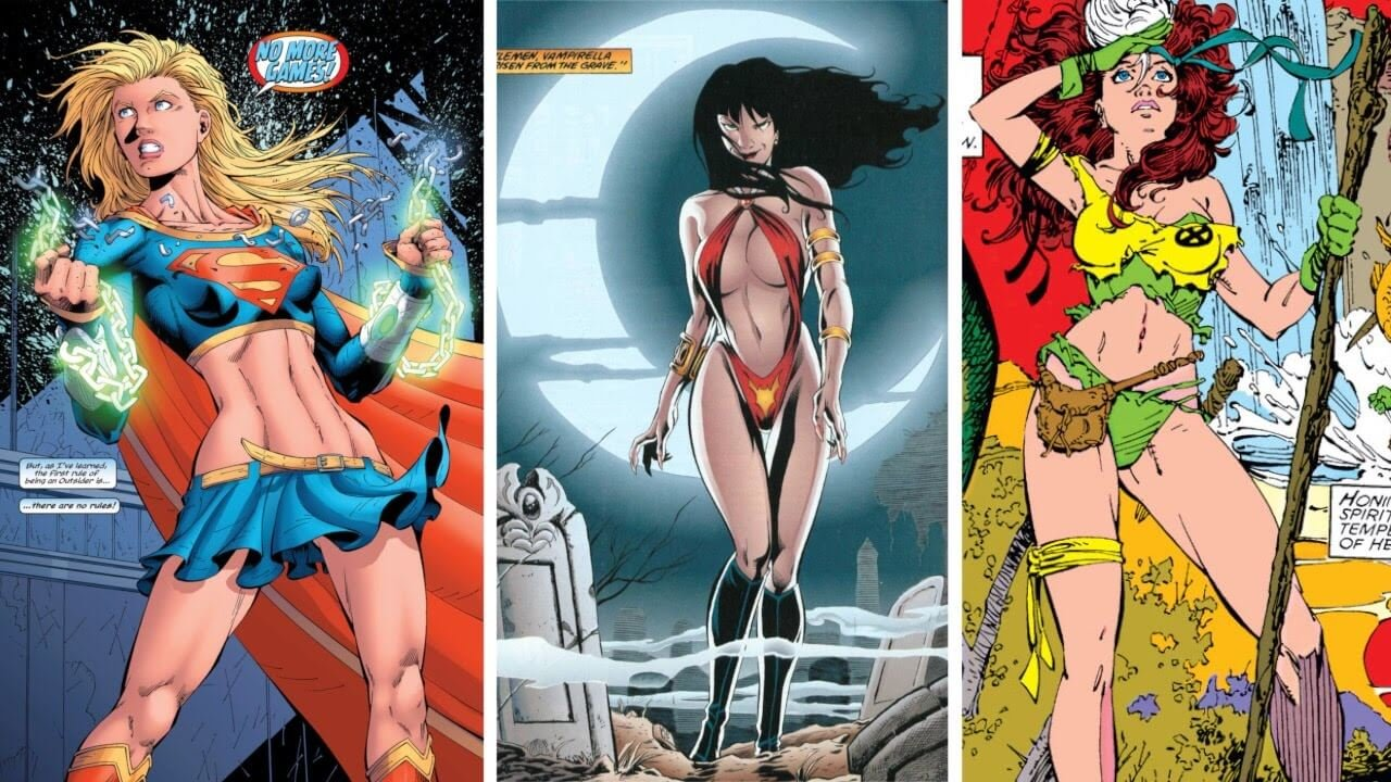 This Artist Explains How To Draw Female Superheroes Who Look Natural Not Hyper-Sexualised