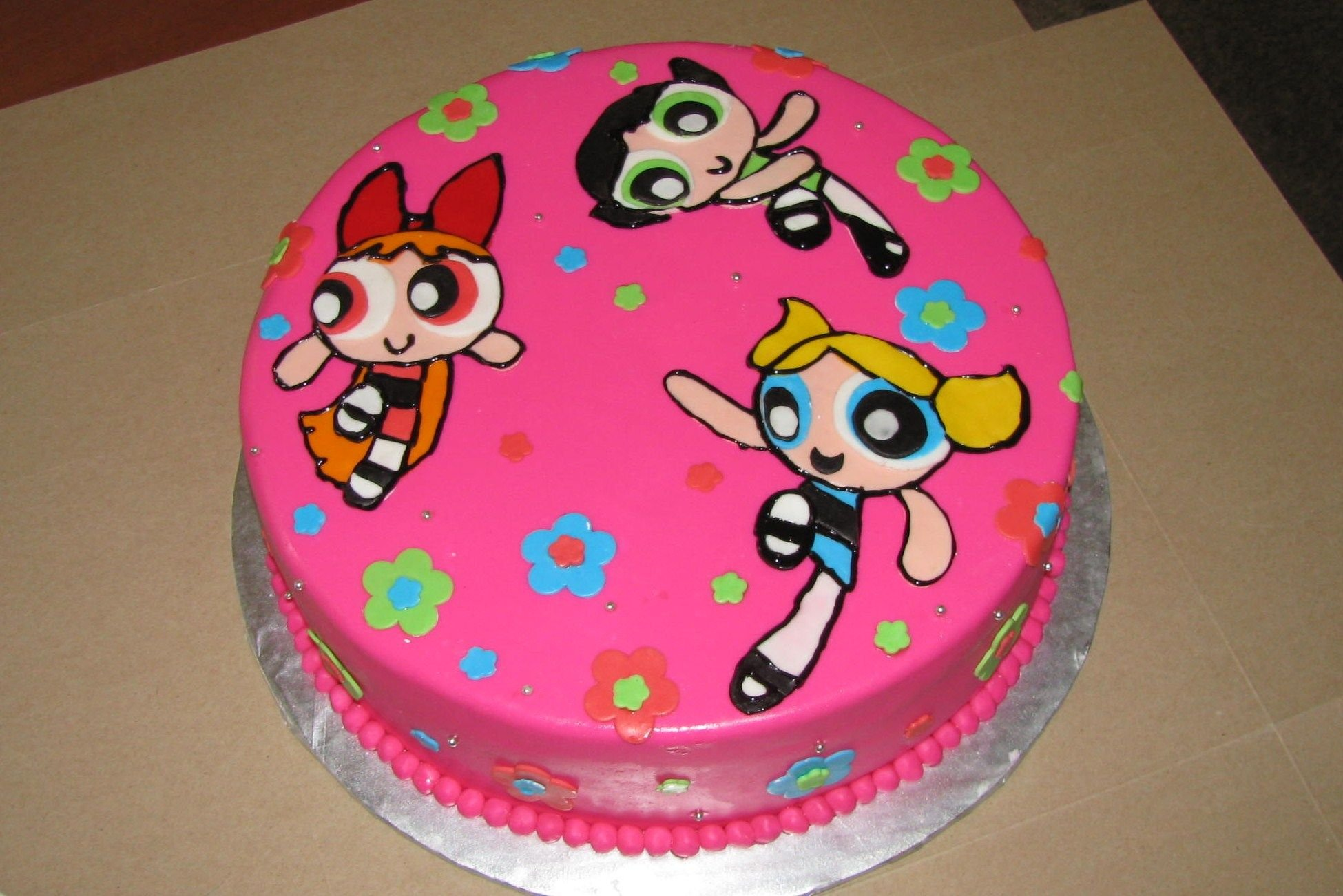 powerpuff girls cake vagabombpicks 60 themed birthday cakes that are simply 6741