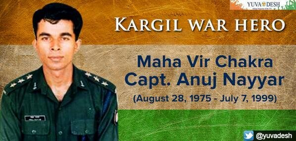 Remembering Captain Anuj Nayyar, The Hero Who Laid Down His