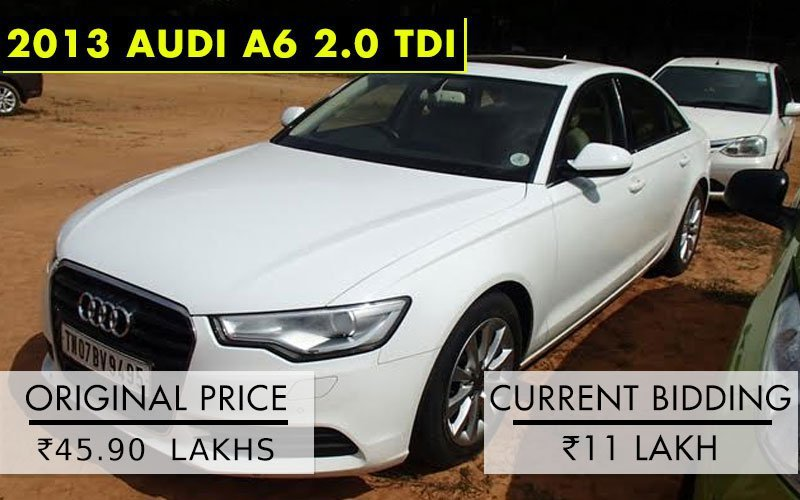 Audi Mercedes BMWs Go On Sale In Chennai At Prices Starting At - Audi car starting price