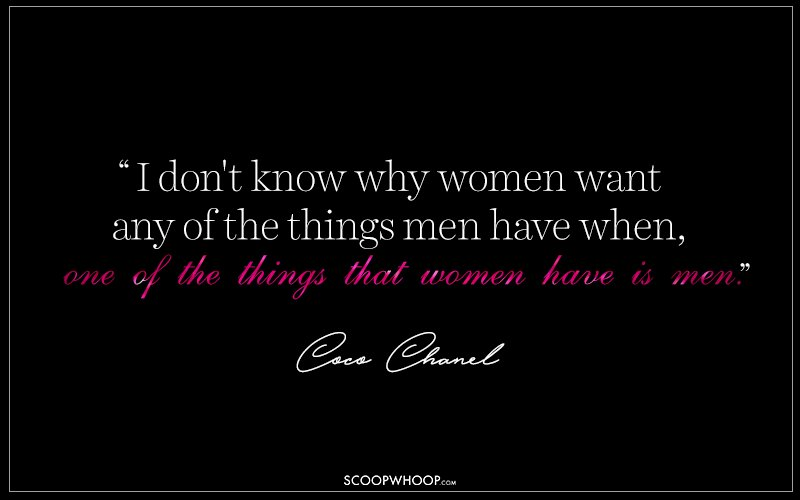 15 Fearless Quotes By Coco Chanel That Define Woman Power