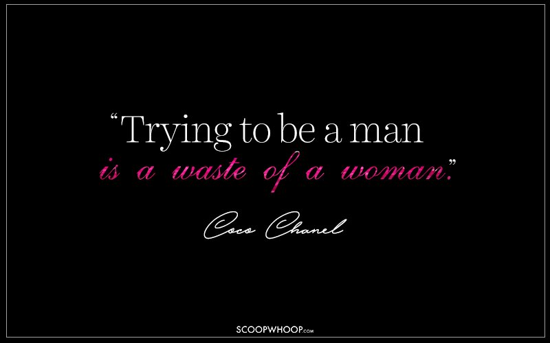 15 Fearless Quotes By Coco Chanel That Define Woman Power ...