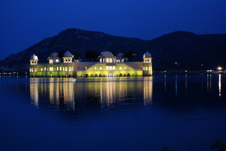 Water Palace in Jaipur