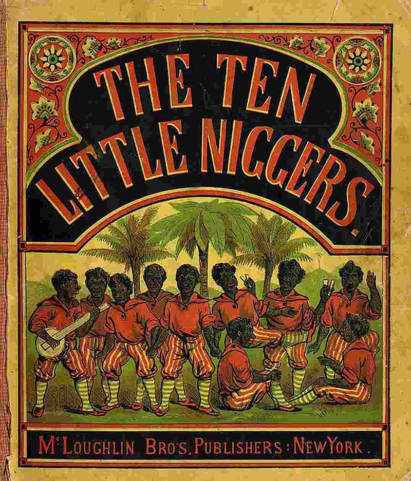 The Rhyme Was Actually Based On A 19th Century Poem Led Ten Little S Possibly Written By Frank J Green In America
