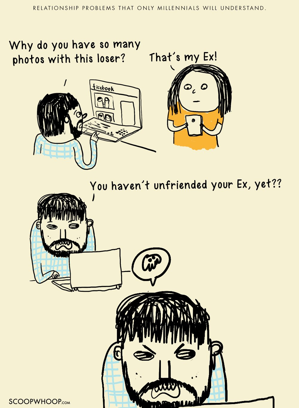 14 Komik Lucu Tentang Masalah Percintaan Yang Hanya Dipahami