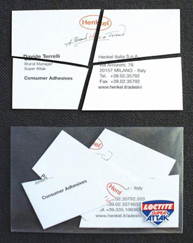 40 Cleverly Designed Business Cards That Will Definitely Leave A ...