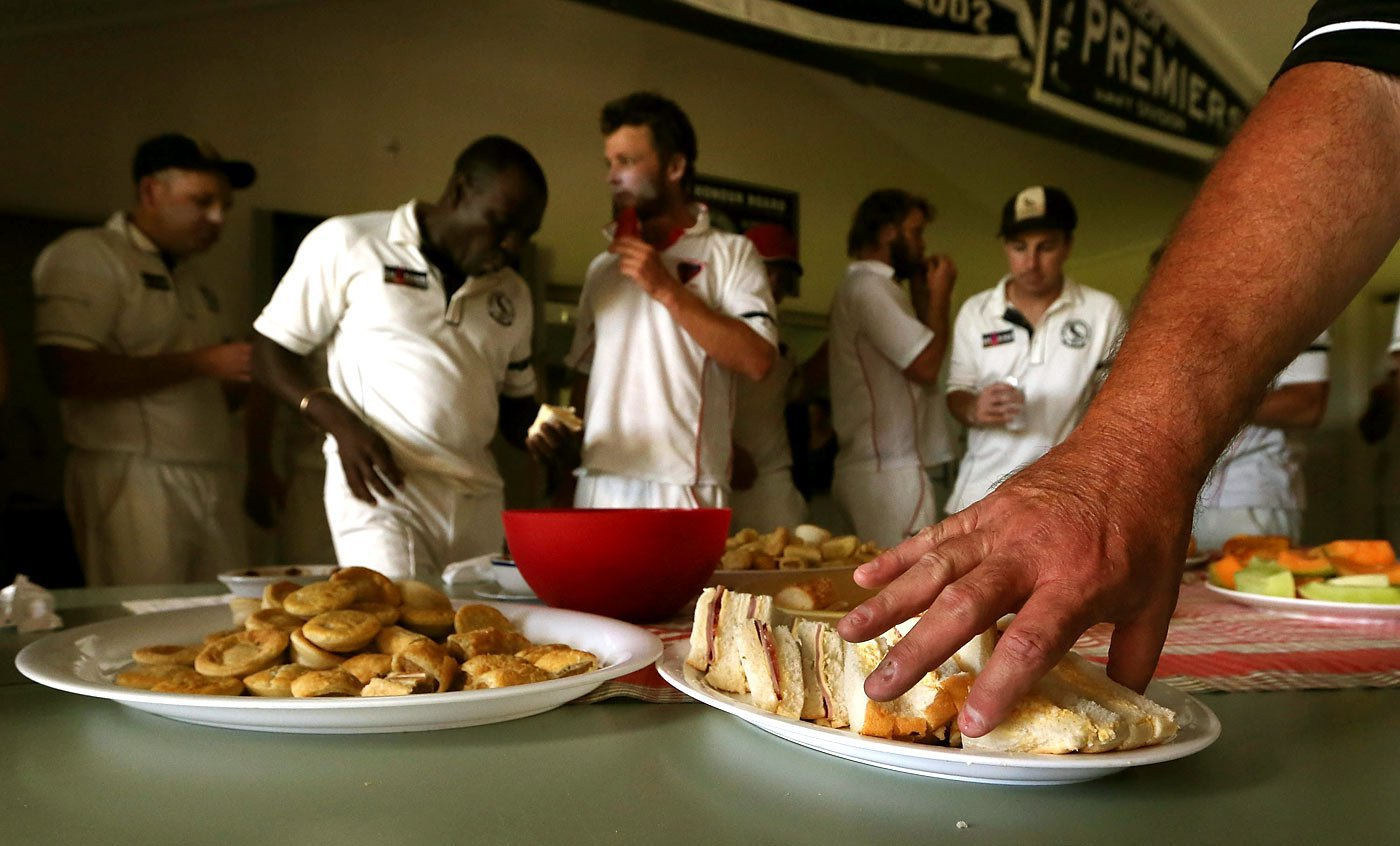 What exactly do cricketers eat during lunch tea breaks in a test what exactly do cricketers eat during lunch tea breaks in a test match heres the answer forumfinder Images