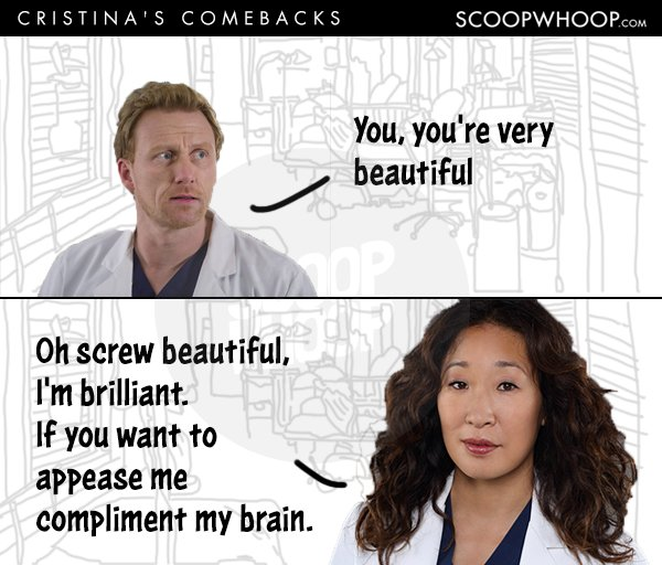 16 Times Cristina Yang Proved Shes The Sassiest Character On