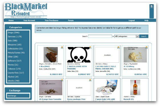 Welcome To The 'Dark Web' Where Drug Dealers, Contract