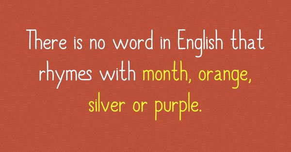 17 Interesting Trivia About The English Language We Bet You