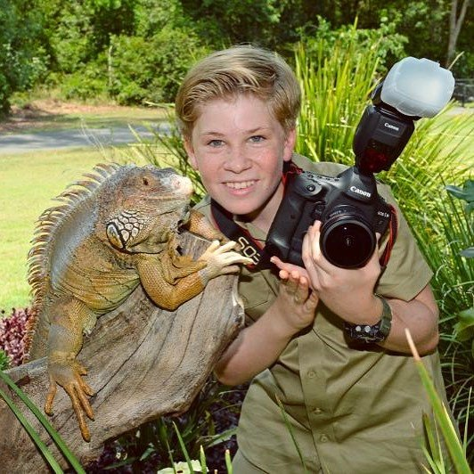 steve irwin s 13 yo son is following his footsteps by capturing the