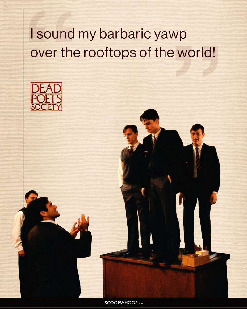 essay on dead poets society Dead poets society is a movie that compares the conflict between realism and romanticism the setting takes place at an all-boys preparatory school named.