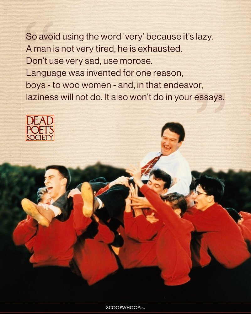 "dead poets society essay topics A theme presented in the film ""dead poet's society, directed by peter weir is the power of a topic: level 1 dead poet's society essay: englishteacher2."