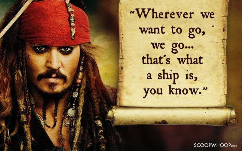 60 Memorable Quotes By Captain Jack Sparrow That Made Us Fall In Stunning Captain Jack Sparrow Quotes