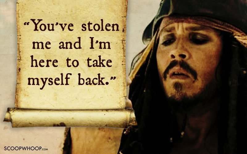 Pirates Of The Caribbean Quotes New 25 Memorable Quotescaptain Jack Sparrow That Made Us Fall In