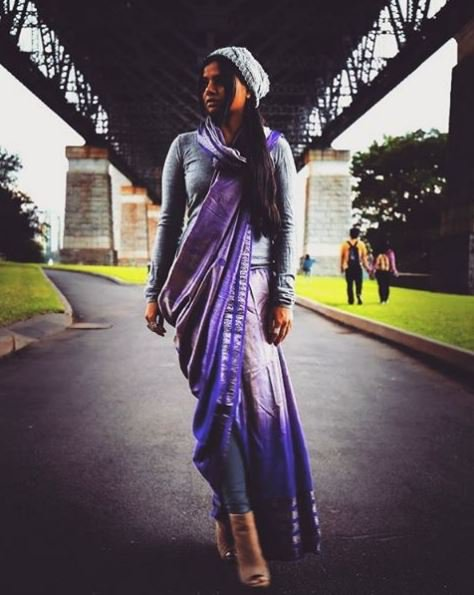 Ways To Wear Saree In Winters