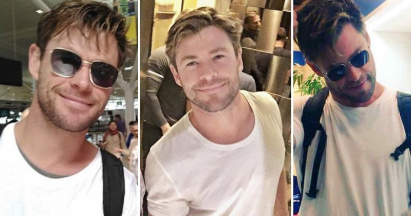 Chris Hemsworth Is In India Shooting For His Netflix Debut & We're Ready To Netflix & Chris
