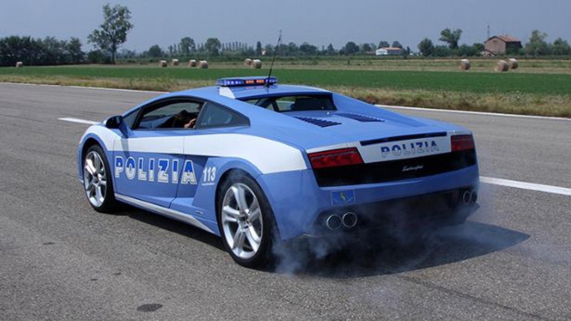 These 10 Superfast Mean Police Cars From Around The World Are Every