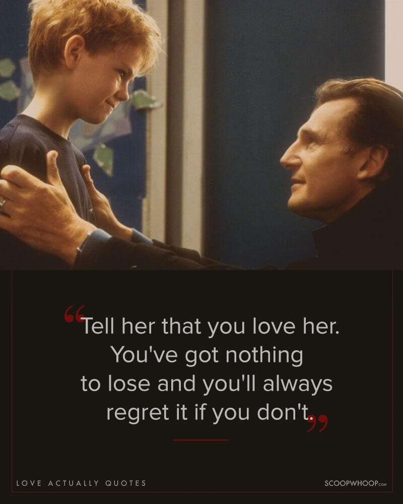 Love Actually Quotes 18 Quotes From 'Love Actually' That Made All Of Us Believe In Love Love Actually Quotes