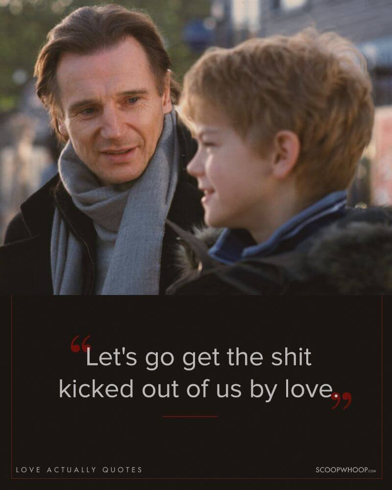 Funny Love Quotes From Movies 18 Quotes From 'love Actually' That Made All Of Us Believe In Love
