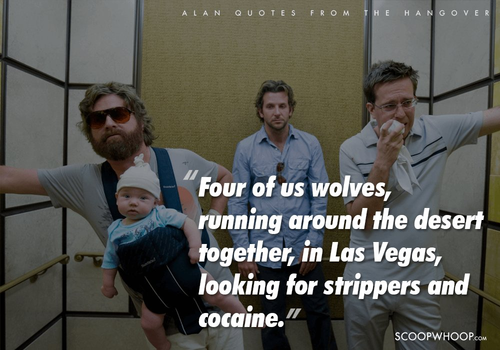 Alan Is The One-Man Wolfpack Who Saves The Hangover From