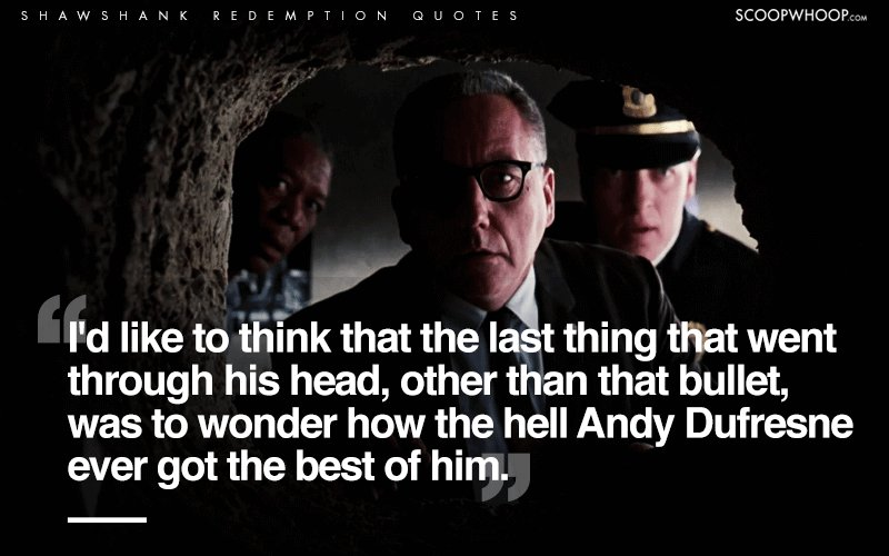 20 Powerful Quotes From The Shawshank Redemption That Make ...