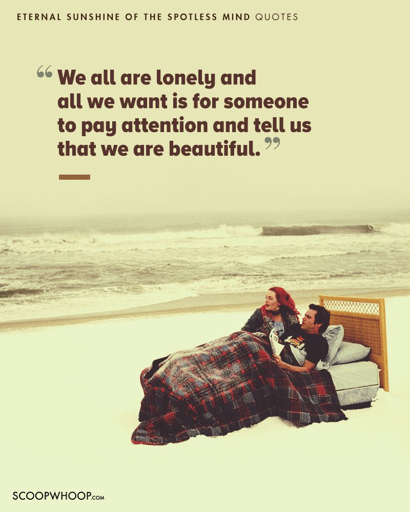 Jungle Book Quotes 15 Eternal Sunshine Of The Spotless Mind Quotes Which Show Love Is