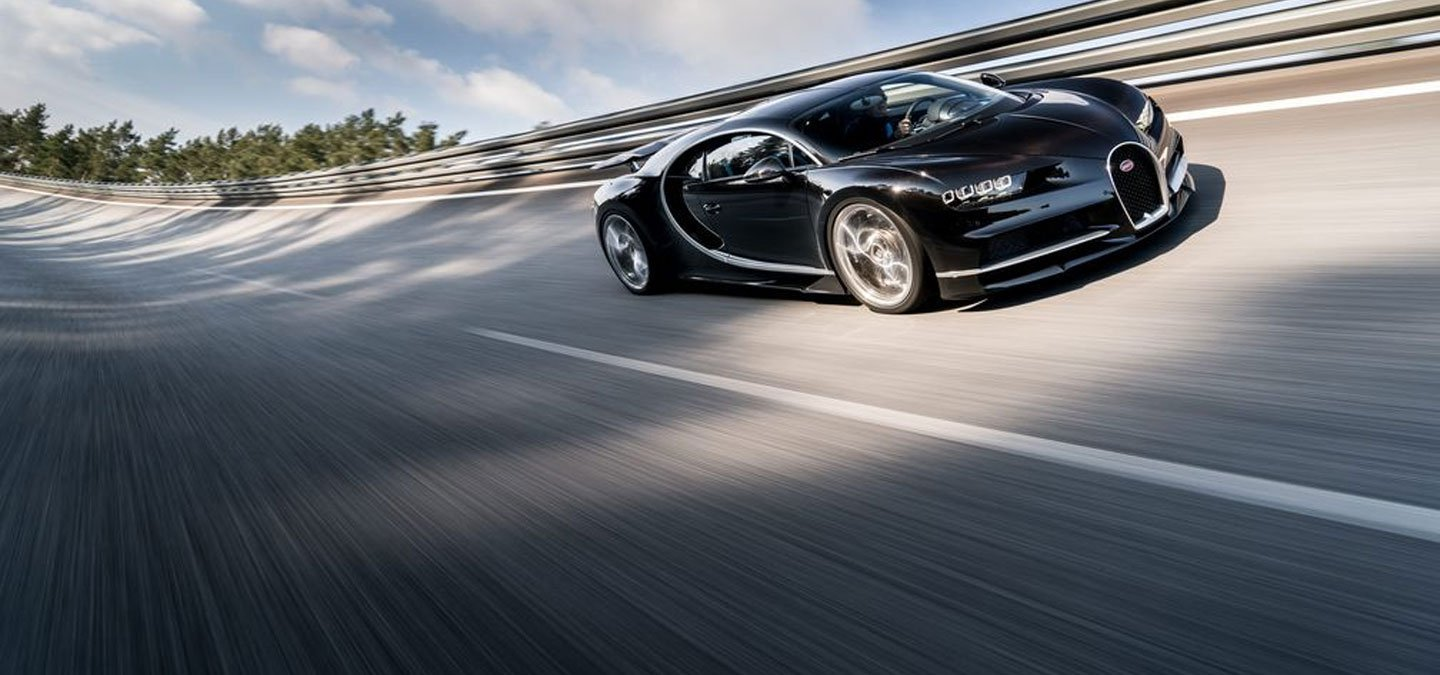 bugatti just unveiled the world's fastest car & it's faster than
