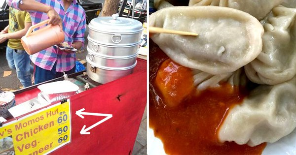 There's No Such Thing As A Veg Momo. What You're Eating In The Name Of Veg Momo Is A 'Dhokha'