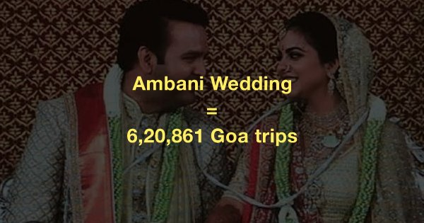 Here's Everything You Can Buy With The Money The Ambanis Spent On Isha's Wedding