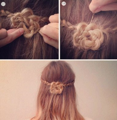 Step 2: Spin The Braid Around Into A Bun, And Pin It Securely Against Your  Head.