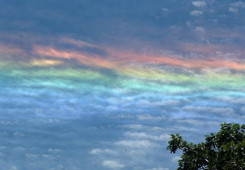 rainbows are cool but fire rainbows are a stunning natural