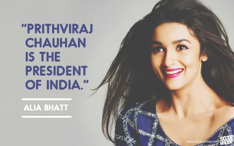 30 Times Bollywood Celebrities Said Really Dumb Things