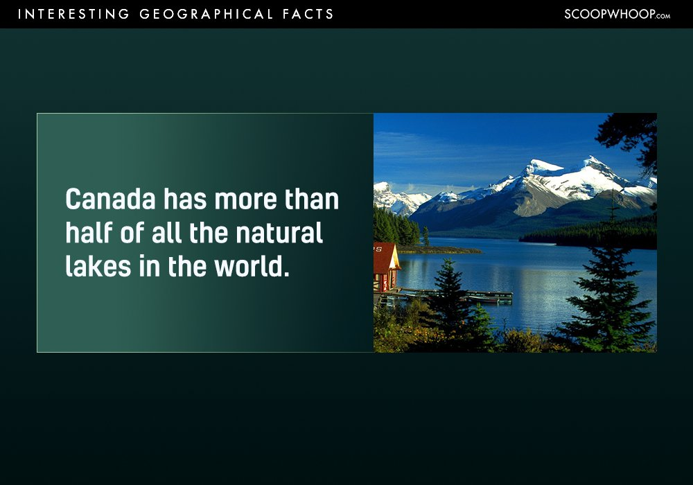 Interesting Geographical Facts You Probably Had No Idea About - 18 shocking facts nature