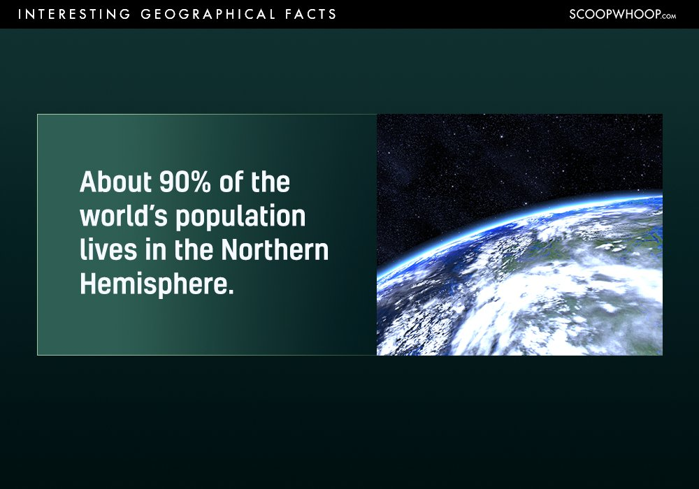 Most Interesting Facts >> 18 Interesting Geographical Facts You Probably Had No Idea About