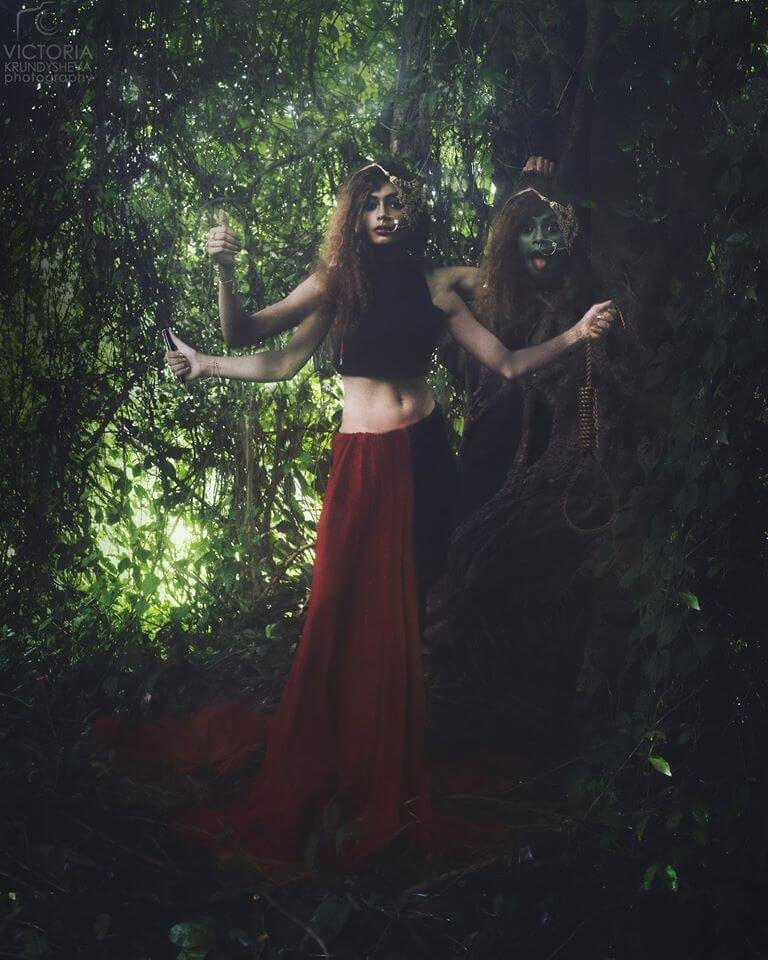 Goddess to Victim: This Powerful Photo-Series Points out