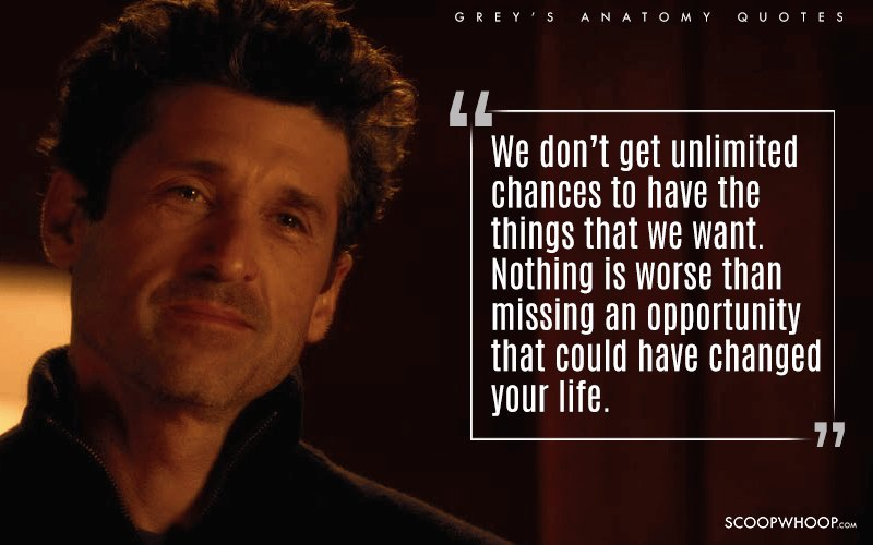 14 Quotes From Greys Anatomy To Remind You Why Life Isnt About