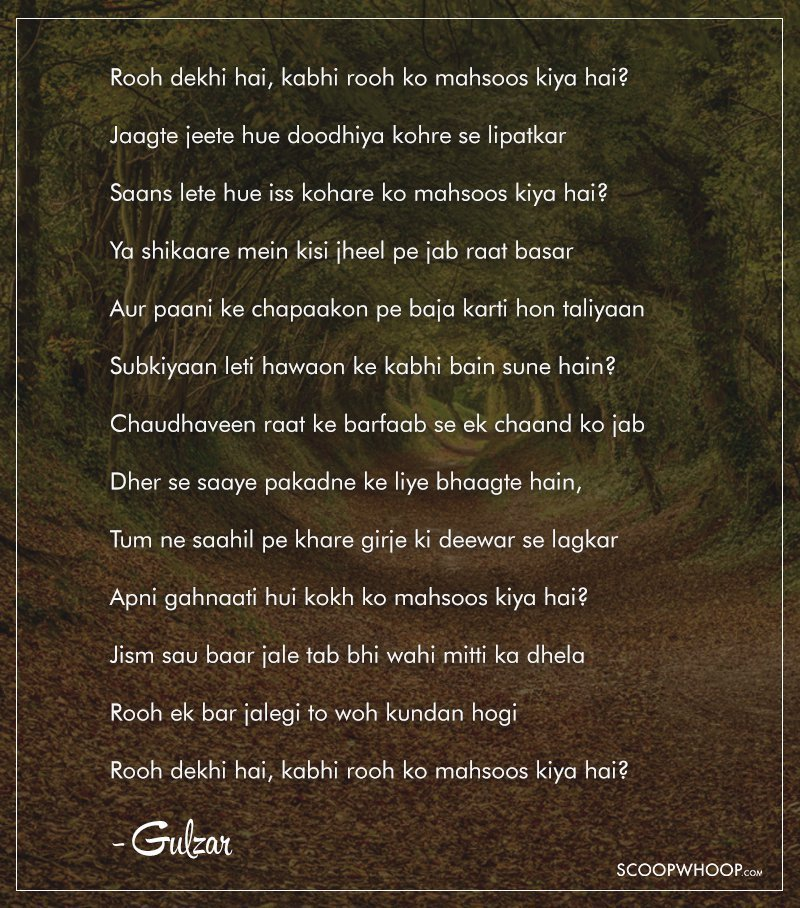 Translations Into Italian: These Beautiful Poems Gulzar Recited At The Jaipur Lit