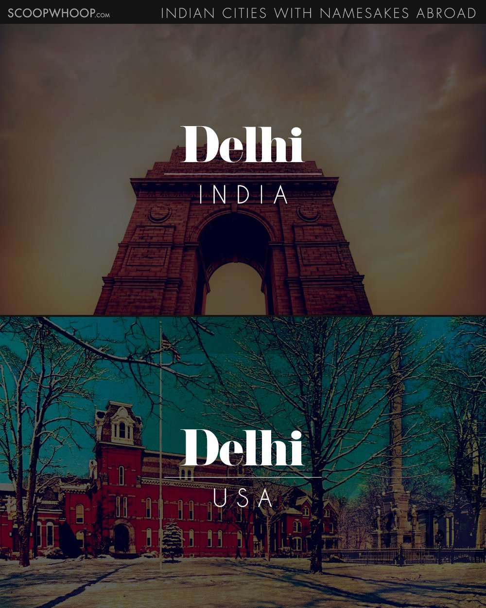 Canada And Is Spelled As Del High But The Capital City Of India Town In United States Share Same Name Pronunciation