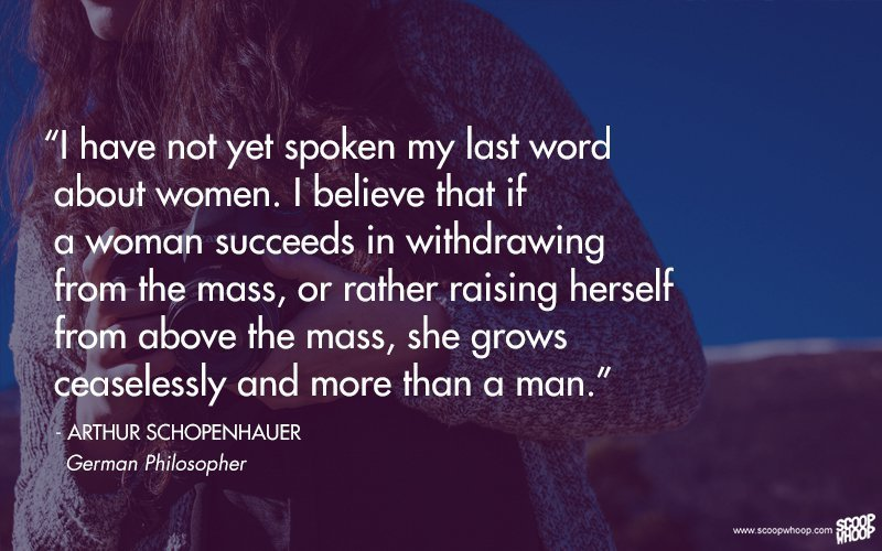 22 Quotes By Famous Men On Women Feminism And Womens Rights