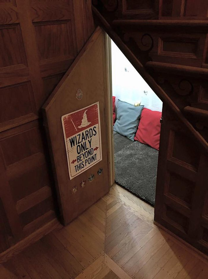 Secret Room Under Stairs Harry Potter