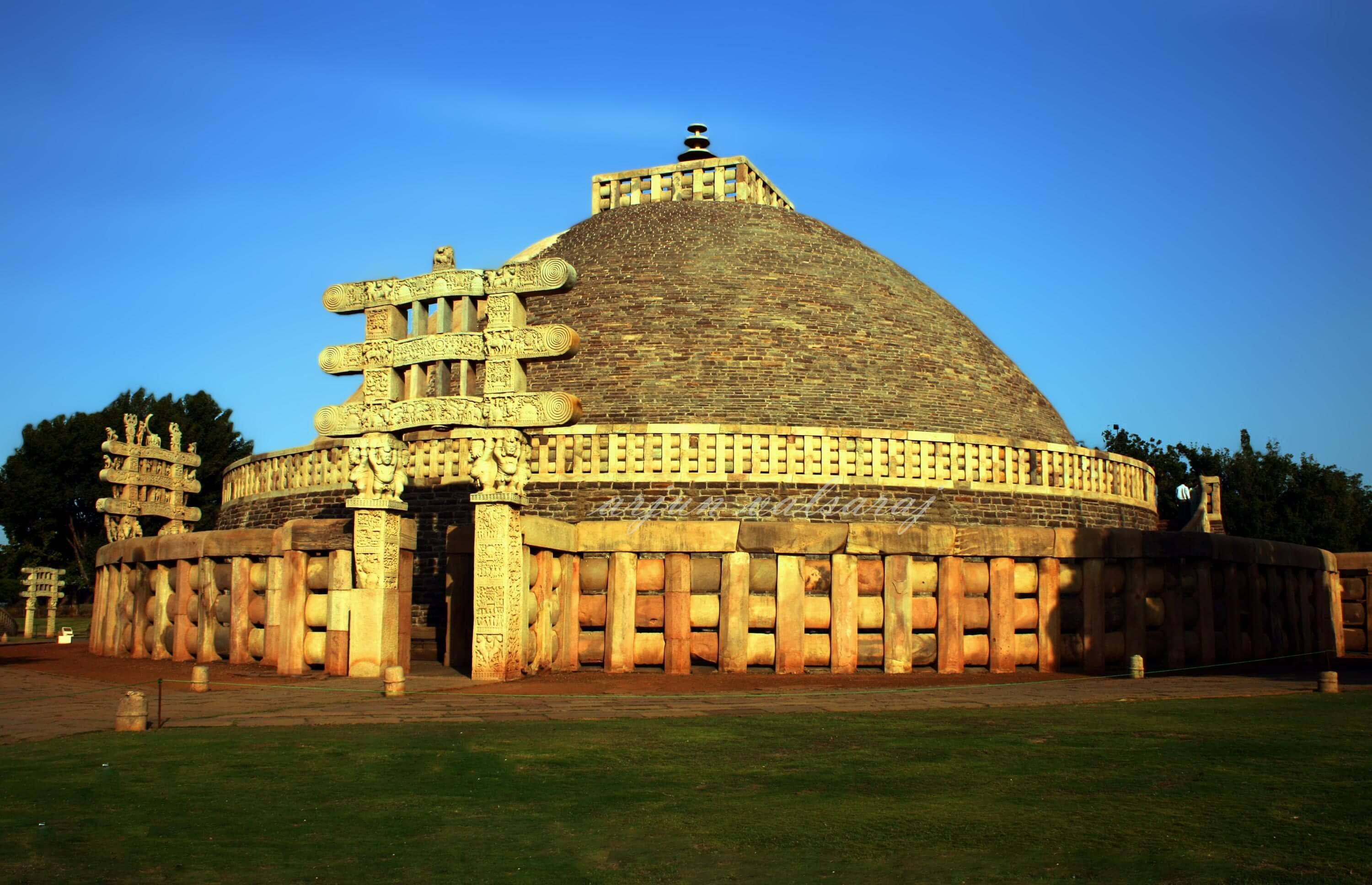Sanchi Stupa Wallpaper Hd: From Nalanda Univ. To Mumbai's CST, Here Are 35 Stunning