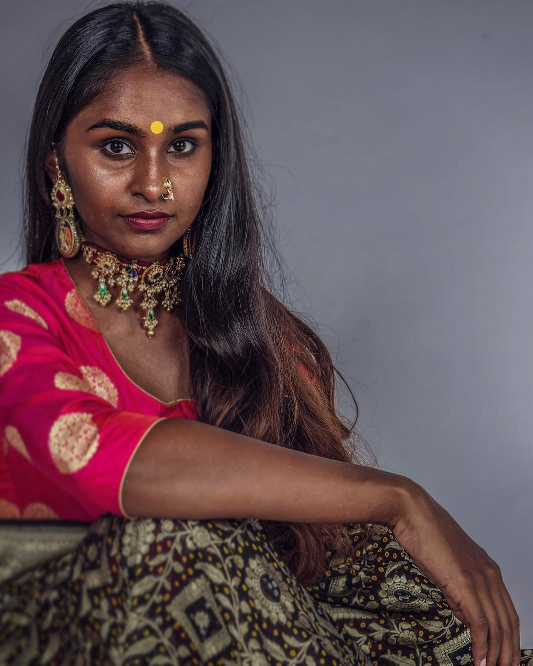 A Designer Is Breaking The Stereotype Of 'Only Fair Is Beautiful' By Featuring Stunning Dusky Models