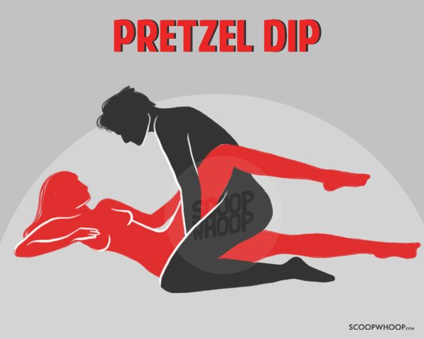 Pretzel sexual position