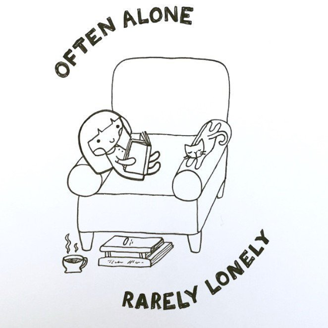 Illustrations That Perfectly Sum Up The Life Of An Introvert - 20 struggles perfectly sum life introvert