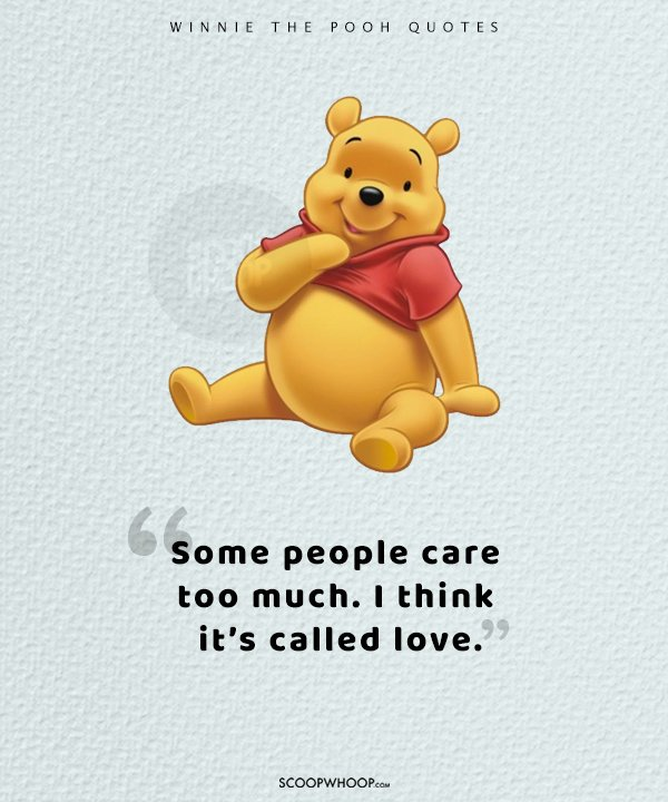 25 Quotes That Prove Winnie The Pooh Was A Cartoon That Taught Us